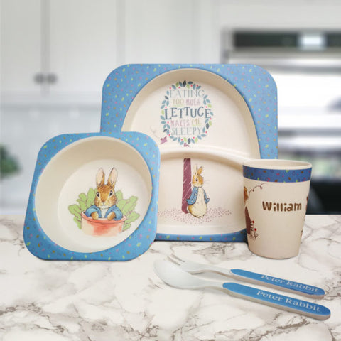 Peter Rabbit Bamboo Breakfast Set