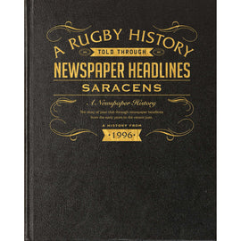 Saracens Rugby Newspaper book