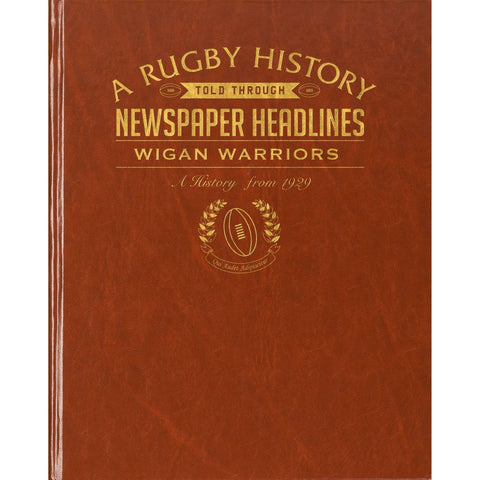 Wigan Warriors Rugby Newspaper Book