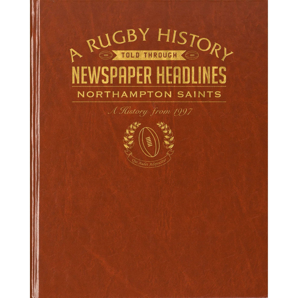 Northampton Saints Rugby Newspaper book