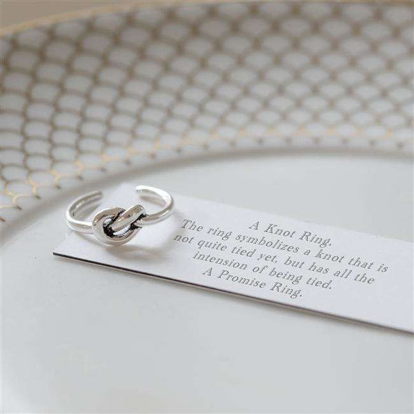 A Little Promise Sterling Ring