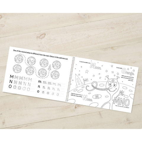 Alphabet World Colouring Book