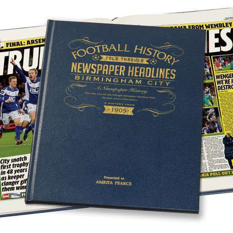 Birmingham Football Newspaper Book