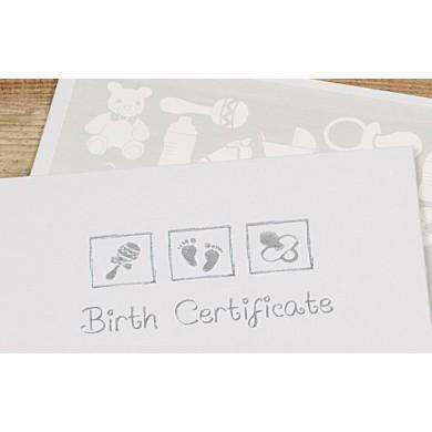 Birth Certificate Embossed Presentation Holder