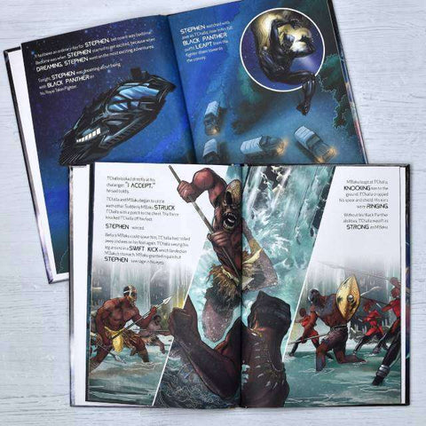 Black Panther Personalised Marvel Story Book