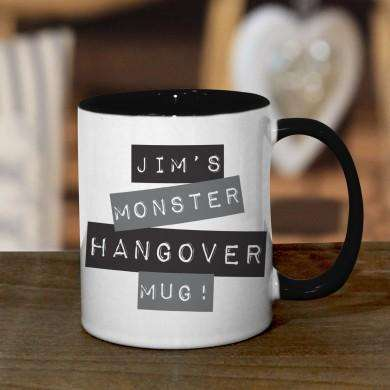 Black Monster Hangover Mug
