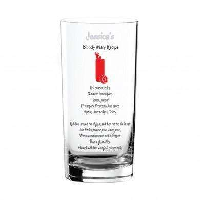 Personalised Drinking Glasses for Him