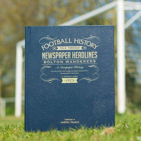 Bolton Football Newspaper Book