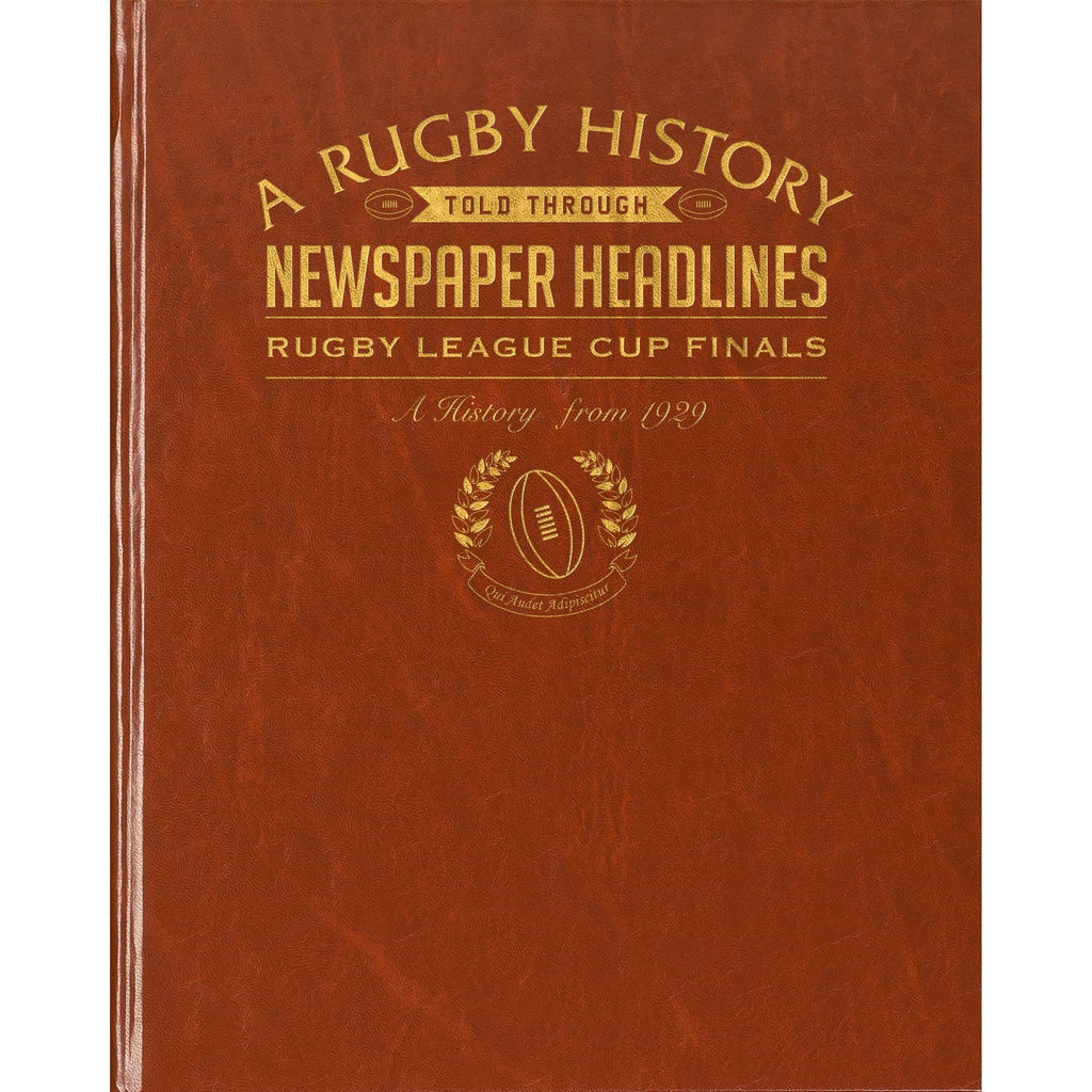 Challenge Cup Rugby League Newspaper Book