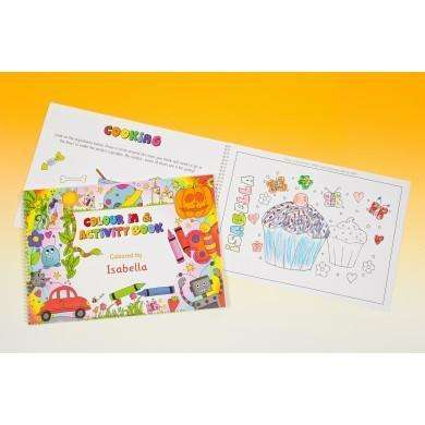 Colour In and Activity Book