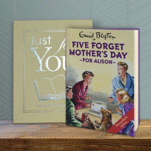 Five Forget Mother's Day: A Personalised Enid Blyton Book