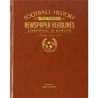 Liverpool In Europe (Leatherette)