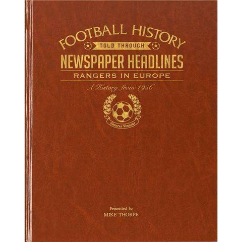 Rangers In Europe (Leatherette)