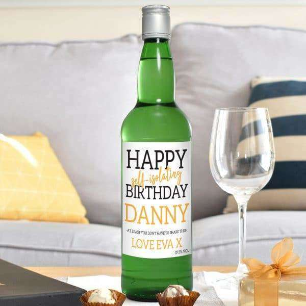 Happy 'Self Isolating' Birthday Gin