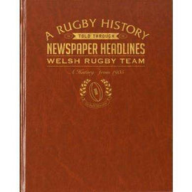 History of Welsh Rugby Newspaper Book
