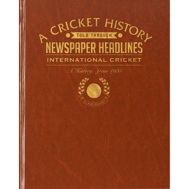 International Cricket Newspaper Book