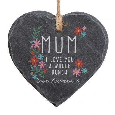 I Love You A Whole Bunch Hanging Slate