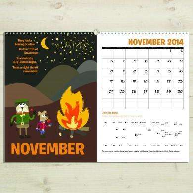 Activity Book Months of the Year