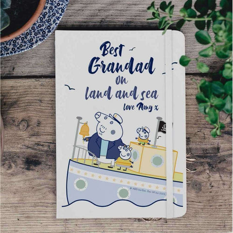 Peppa Pig™ Best Grandad A5 Notebook