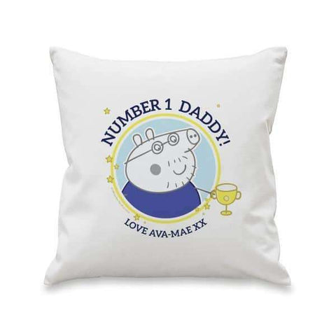 Peppa Pig™ Number 1 Daddy Cushion