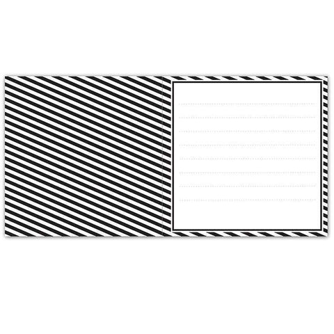 Personalised Art Deco Striped Pack of 20 Cards