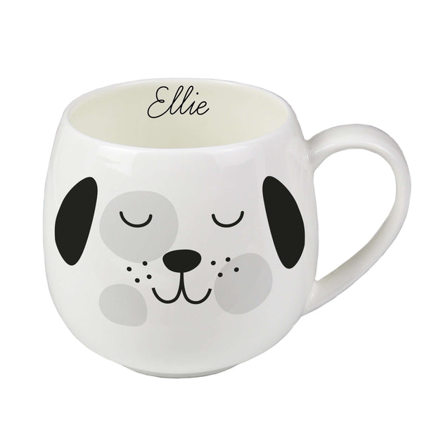 Personalised Cute Dog Shape Mug