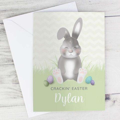 Personalised Easter Bunny Card