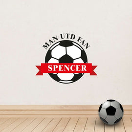 Personalised Football Wall Art