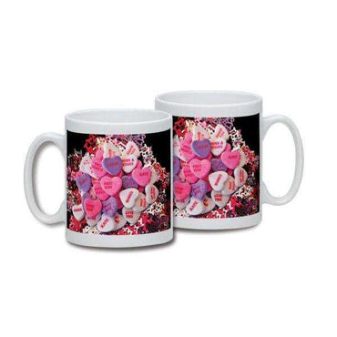 Personalised Love heart Mug