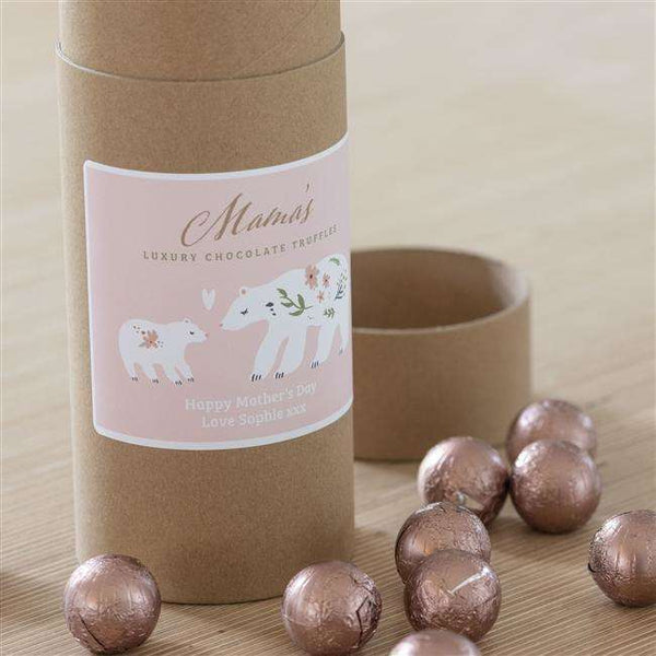 Personalised Mama Bear Chocolate Truffles