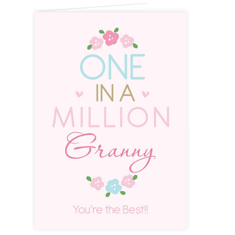 Personalised One in a Million Card