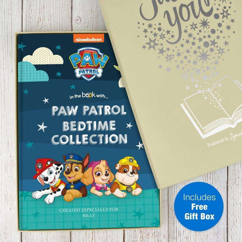 Personalised Paw Patrol Bedtime Stories Collection