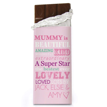 Personalised She Is... Milk Chocolate Bar