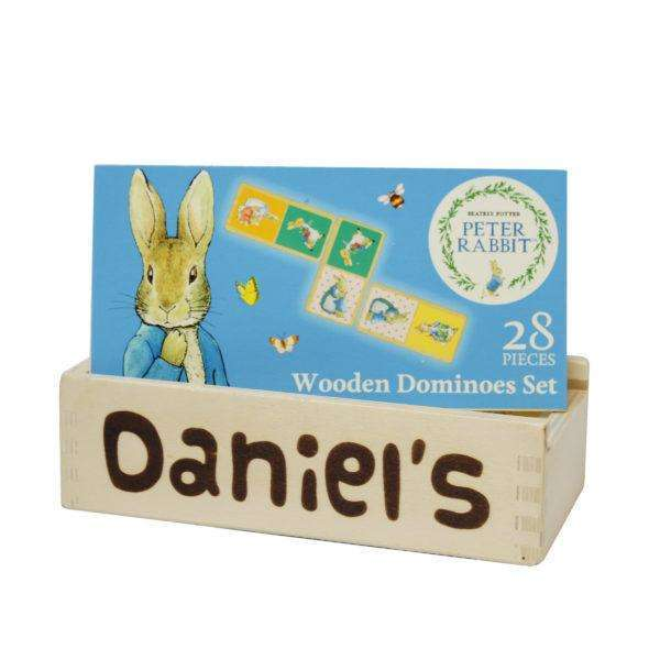 Peter Rabbit Wooden Dominoes