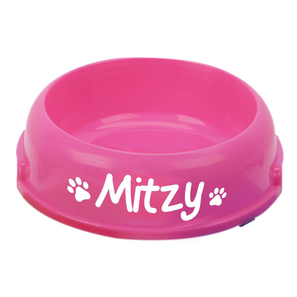 Single round feeding bowl