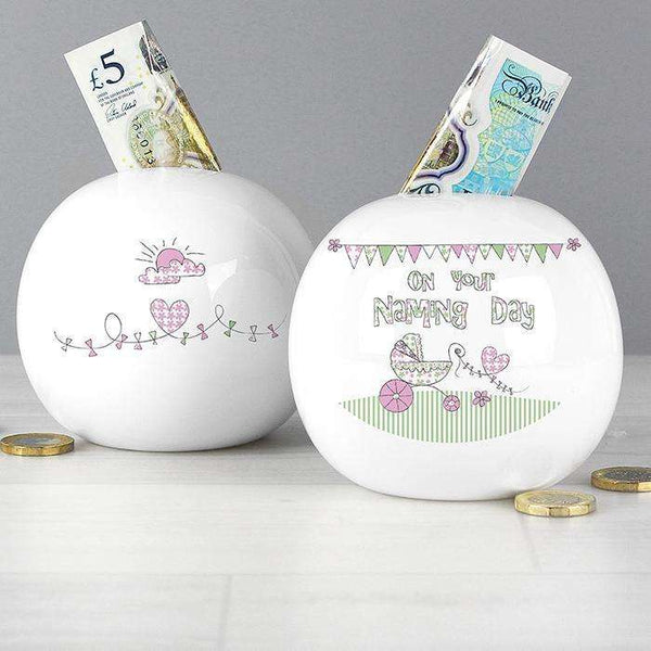 Bunting Naming Money Box