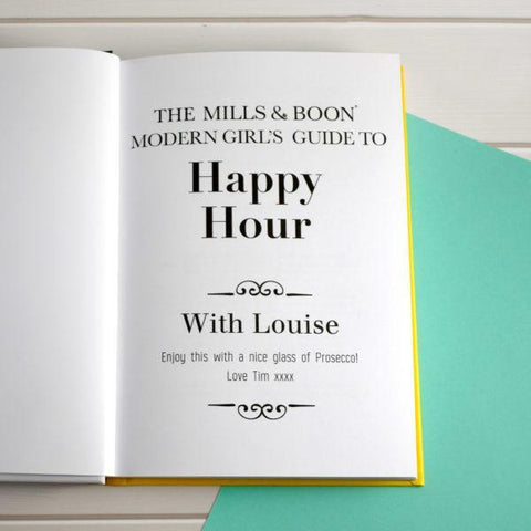 Happy Hour: A Personalised Mills and Boon Modern Girl's Guide Book