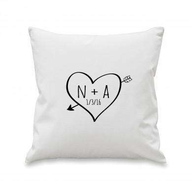 Sketch Heart Cushion