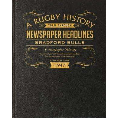 Bradford Bulls Rugby Newspaper Book