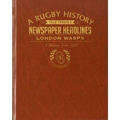 London Wasps Rugby Newspaper book
