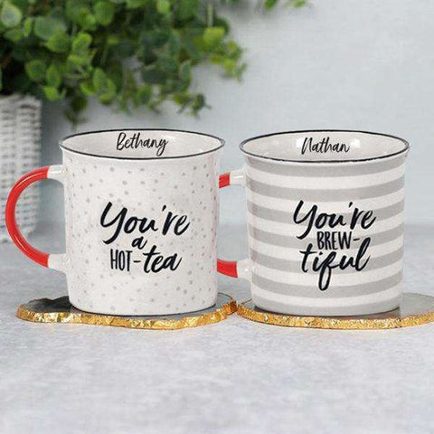Tea Themed Mug Set