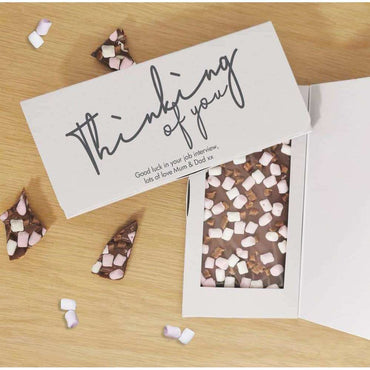 Thinking Of You Milk Chocolate Card
