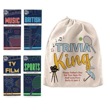 Trivia King Quiz Set