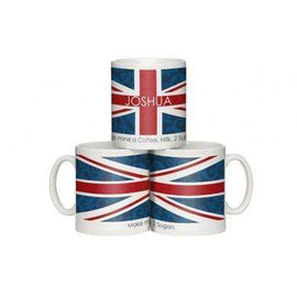 Personalised Shabby Chic Union Jack Mug