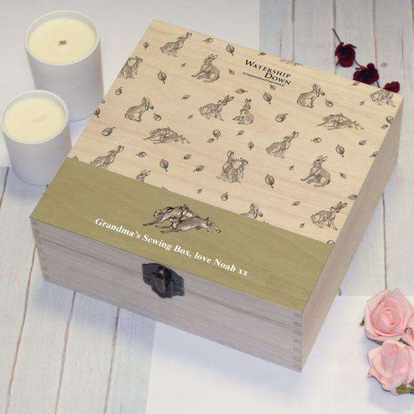 Watership Down Rabbit Pattern Storage Box