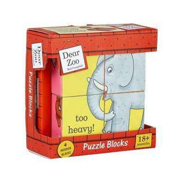 Dear Zoo Puzzle Block