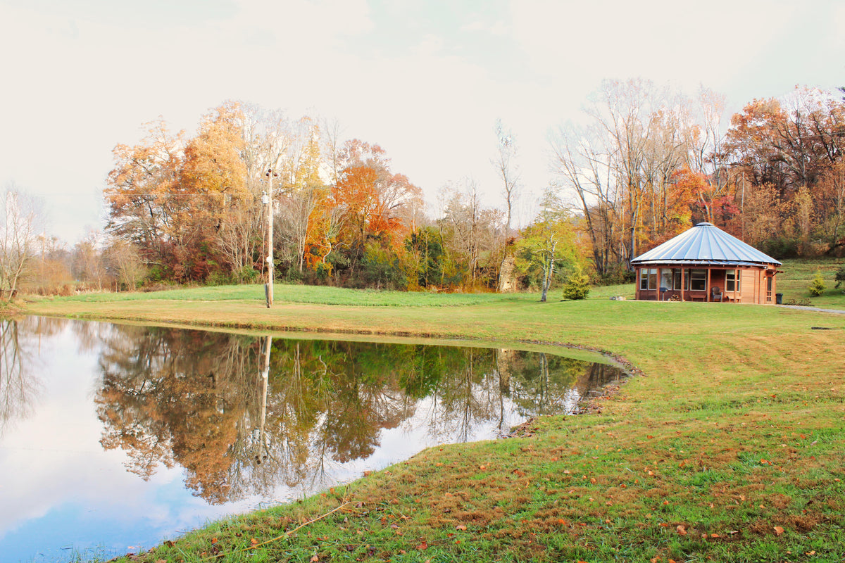 Weekend Getaway at Rose River Farm Yurts in the Blue Ridge Mountains