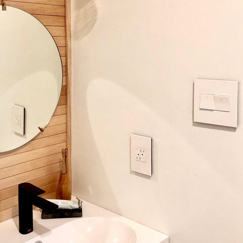 legrand adorne modern outlet and switch