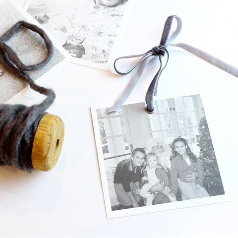 DIY Parabo Photo Ornament
