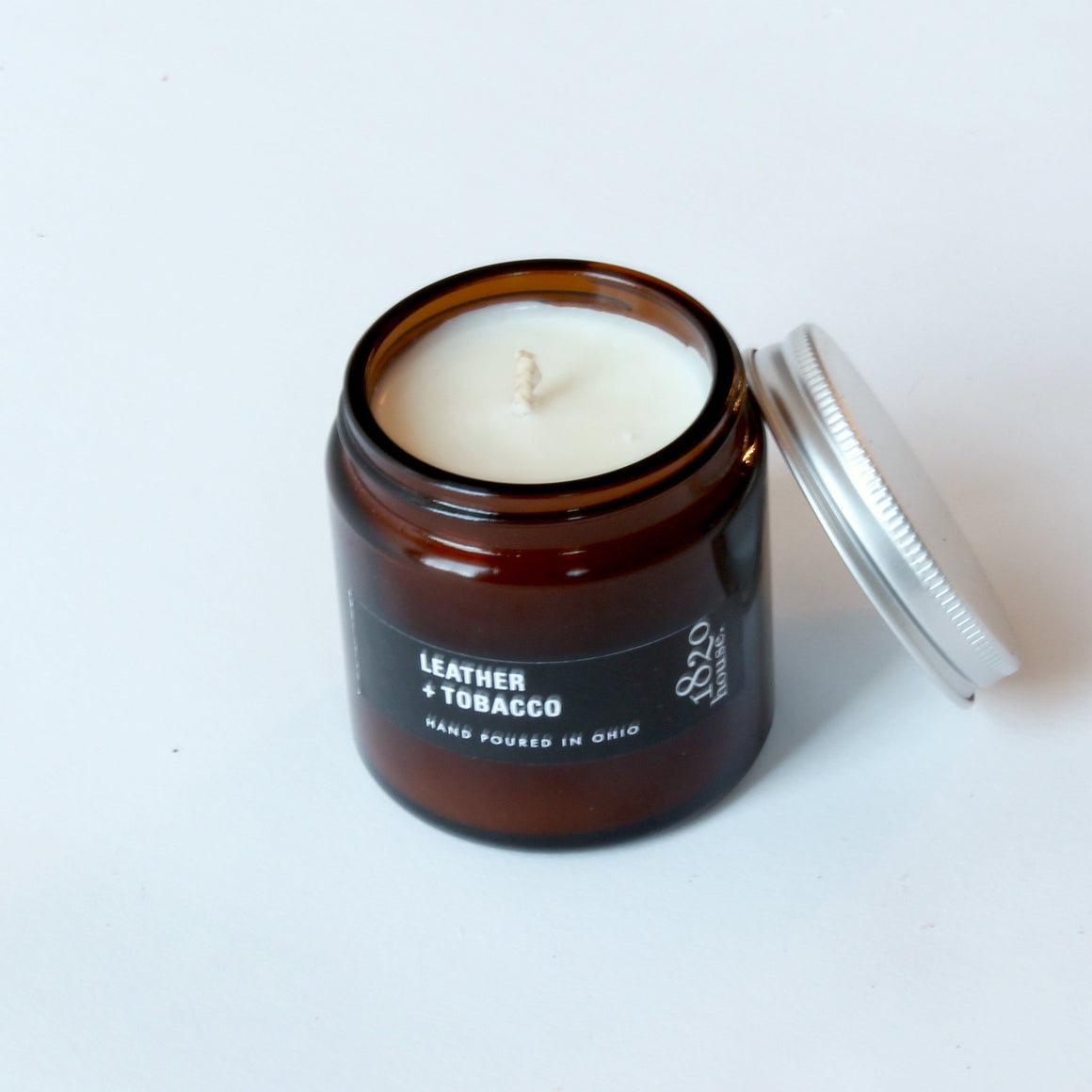 Leather & Tobacco Candle